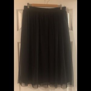 Suzy Shier Skirts - Black Tulle Skirt
